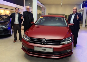 """Chief Operating Adviser Klaus Schadewald announced more """"exciting"""" releases--Comfortline and Highline variants of the Golf, R-Line of the Passat and Touareg, and the return of the Beetle Dune."""