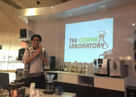 Mr. Eric Lim, COO of Conlins Coffee Company and a certified Coffee Q grader.